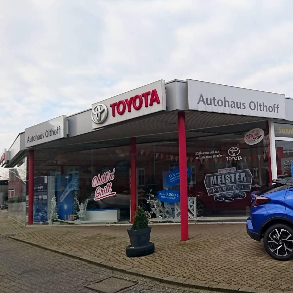 Toyota Autohaus Olthoff Aussenansicht