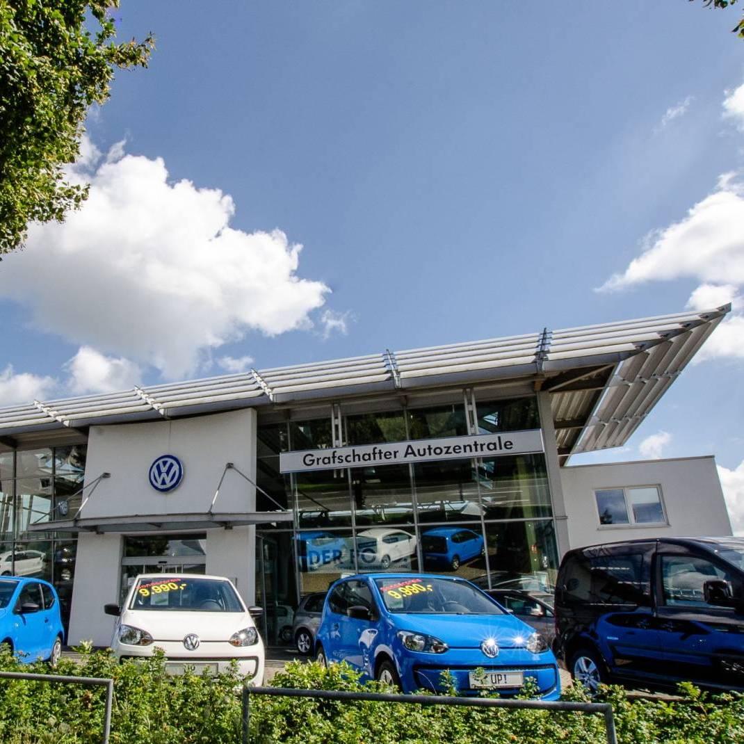 Grafschafter Autozentrale Heinrich Krüp GmbH Außenansicht VW