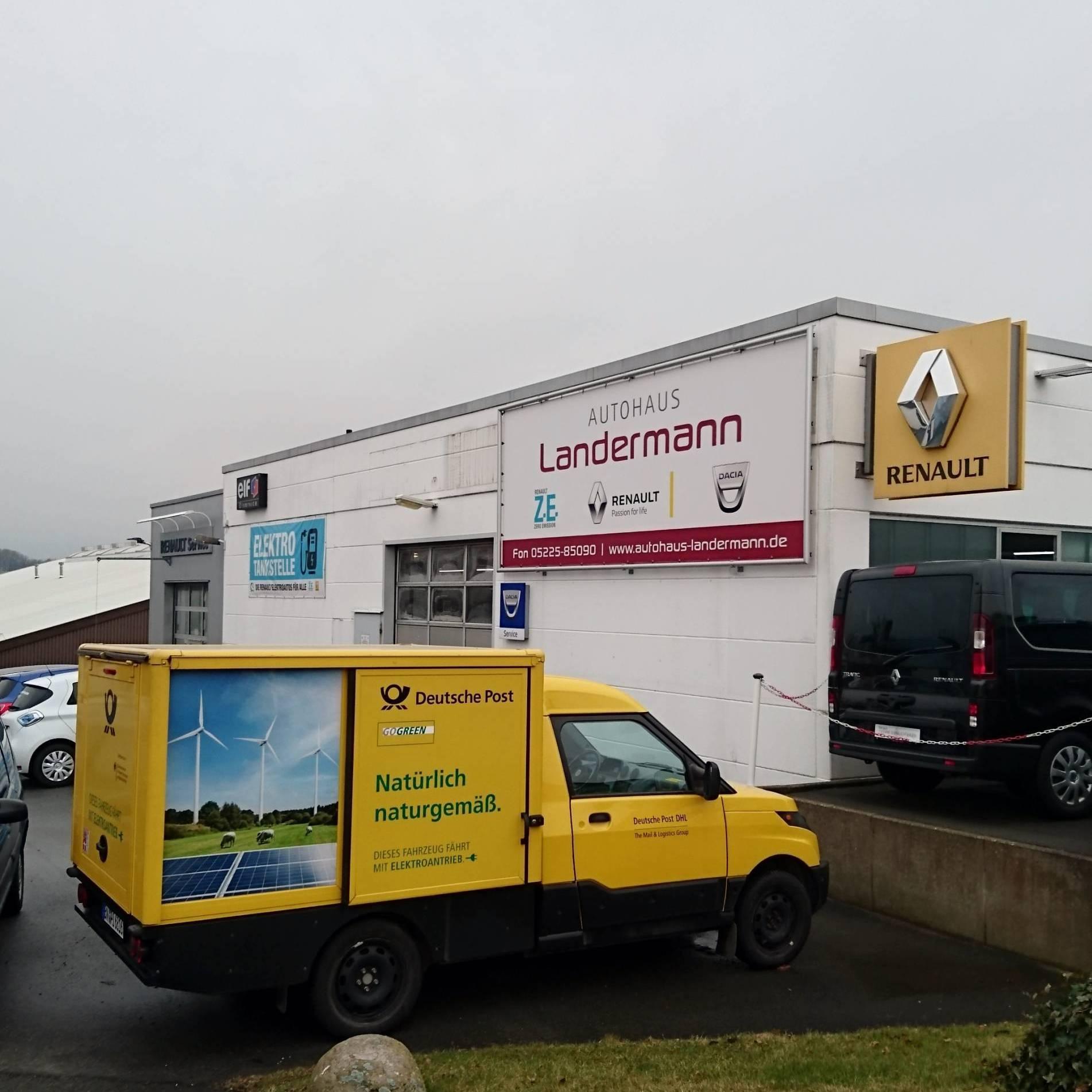 Autohaus Landermann - StreetScooter Aussenansicht