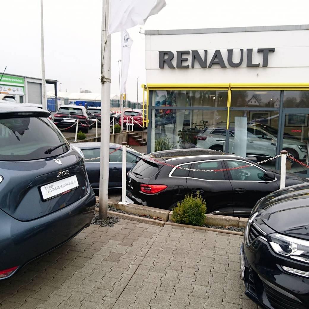 Autohaus Landermann Renault Zoe Vorderansicht
