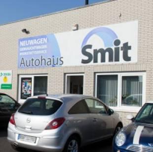 Aussenansicht Autohaus Smit Gronau